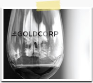 Red Label Vancouver Print Advertisement Graphic Design - Goldcorp